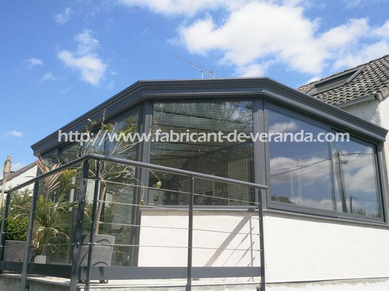 pose veranda aluminium abris de piscine. Black Bedroom Furniture Sets. Home Design Ideas