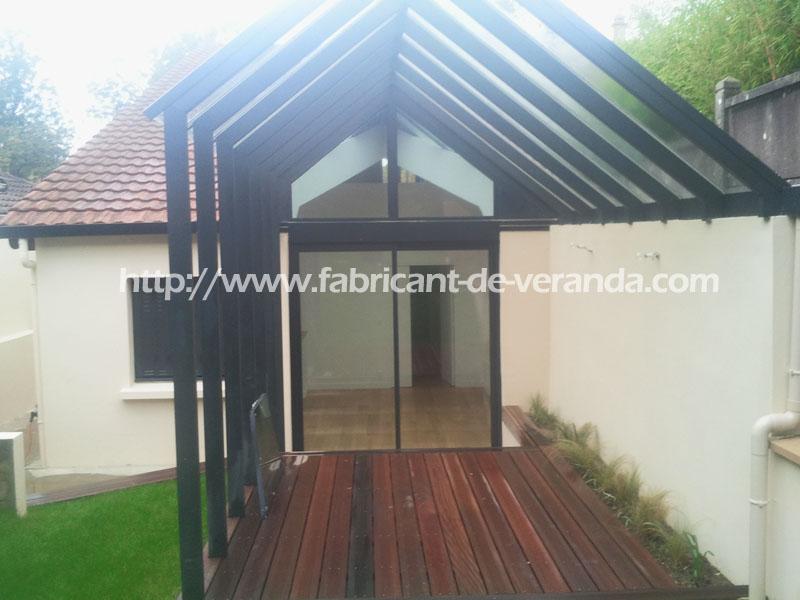 veranda abri de jardin. Black Bedroom Furniture Sets. Home Design Ideas